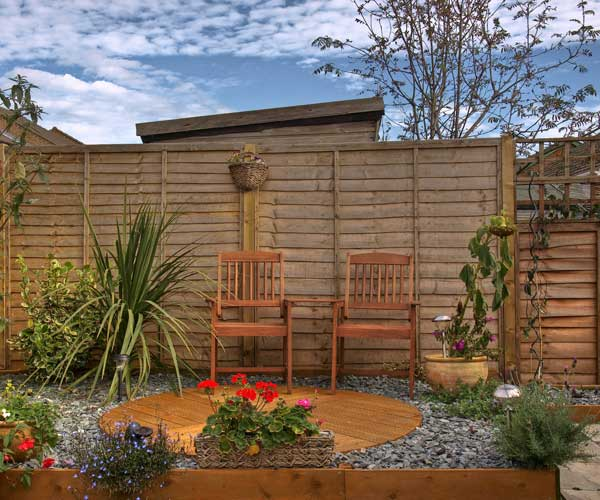 Domestic Wooden Fencing